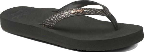 Reef - Reef Star Cushion Sassy - Schuhe - Sandalen/FlipFlops - Flip Flops - Black/Bronze