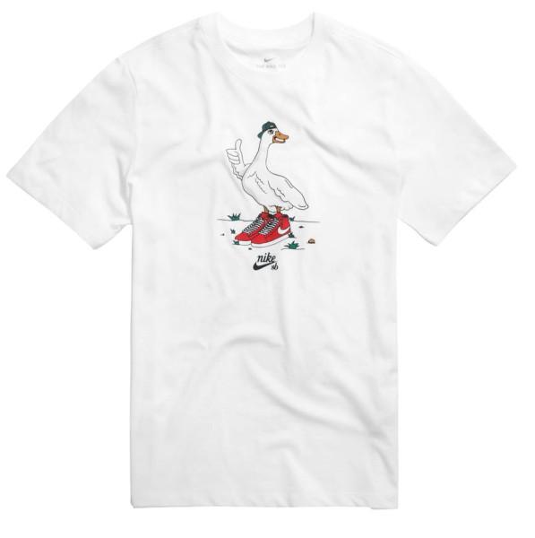 SB Goose - Nike - white - T-Shirts
