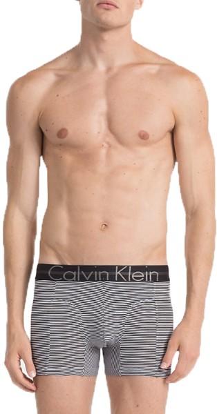Calvin Klein - Trunk - Streetwear - Unterwäsche - Boxer Shorts - black/white stripes