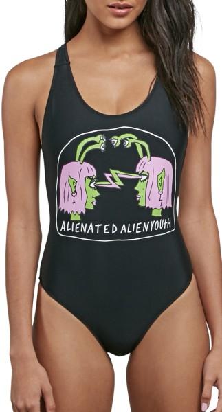 Volcom - Fresh Ink - Beachwear - Bikinis - Badeanzüge - black