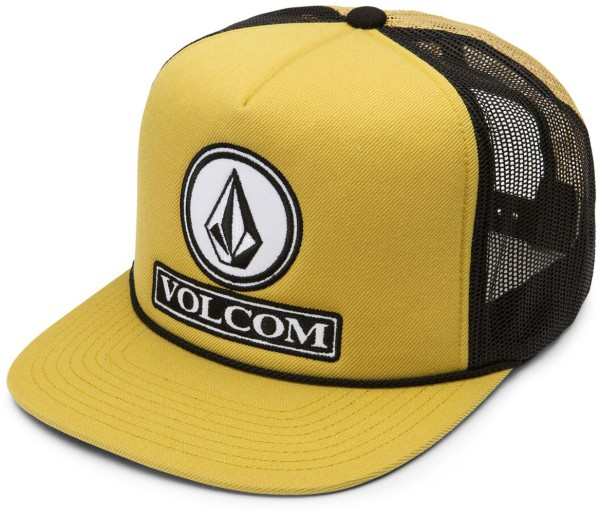 Volcom - Dually Cheese - Accessories  -  Caps  -  Snapback Caps - amber
