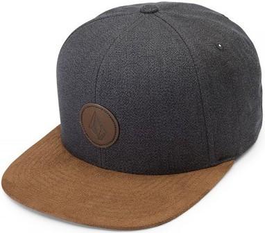 Volcom - Quarter Fabric Cap - mud - volcom cap braun - snapback volcom - volcom cap - volcom herren cap - männer accessoires