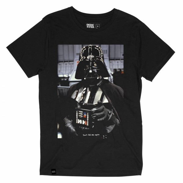 VADER QUOTE - T-Shirt - Dedicated - Herren - Black