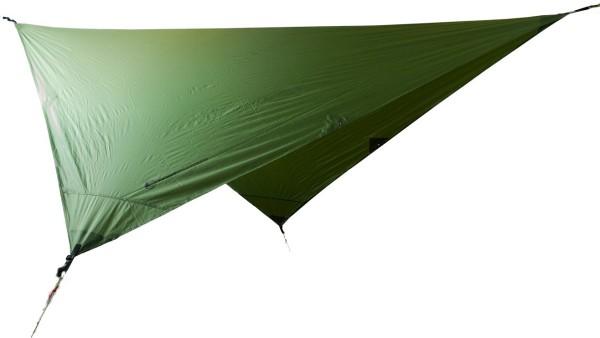Ticket To The Moon - Waterproof Hammock Trap - Dach - Zelt - Schutz - Zubehör - Army Green