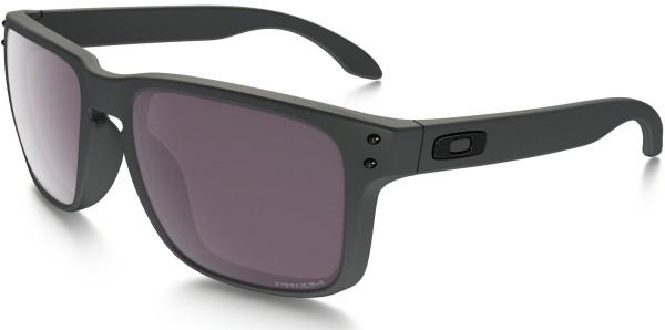 Oakley - Holbrook - steel with prizm polarized - oakley sonnenbrillen - oakley sunglasses - sun glasses holbrook