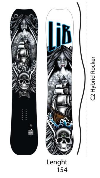 Lib Tech - JL Phoenix Dagmar C2 - Boards & Co - Snowboards - Snowboards - All Mountain RC Hybrid - no color