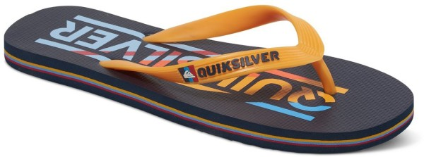Quiksilver - Molokai Wordmark - blue blue orange