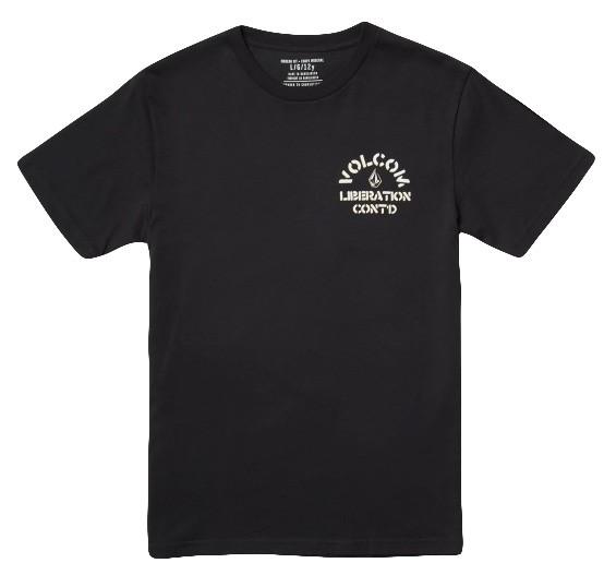Yellers Bsc SS - Volcom - BLACK - T-Shirt