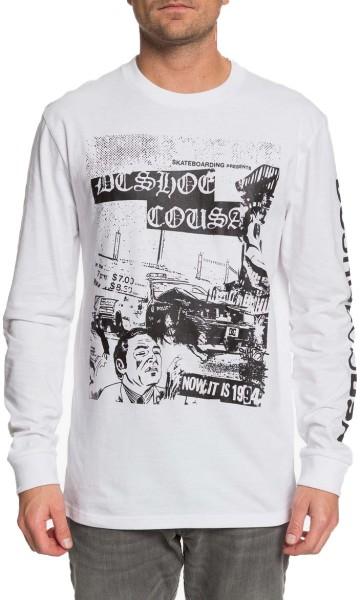 PIONEER SKY LS - DC - White - T-Shirt Langarm