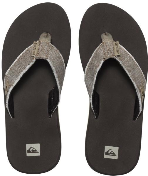 Quiksilver - Monkey Abyss - Flip Flops braun - Quiksilver Flip Flops - braune Sandalen für Männer - Quiksilver Männer Sandalen - braune Flip Flops