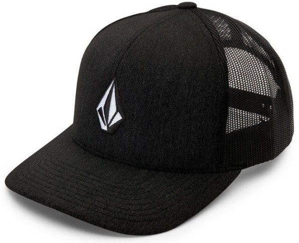 Volcom - Full Stone Cheese - Accessories - Caps - Trucker Caps - New Black