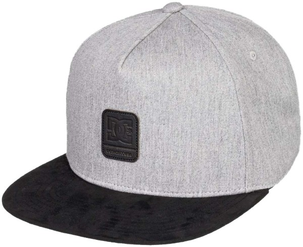 BRACKERS BOY - DC - GREY HEATHER - Snapback Cap