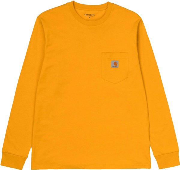 L/S Pocket T-Shirt - Carhartt - Colza - T-Shirt
