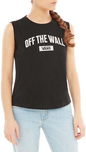 Vans - New Arch Muscle - Streetwear  -  Shirts & Tops  -  Tank Tops - black