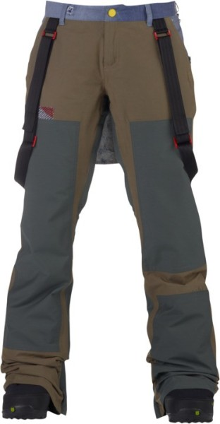 Burton - Lamb Johnny - Snowwear - Funktionshosen - Snowboardhosen - dusty olive - Burton Lamb Johnny dusty olive Snowboardhose - Lamb Johnny dusty olive Snowboardhose von Burton