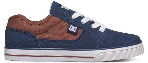 DC - Tonik - Kidner Skateschuh - Brown/Blue