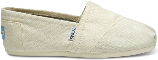 Tom's - Natural Canvas Women Classics - Tom's Schuhe - Tom's Shoes - Toms Frauen Schuhe - natural - beige - espandrilles