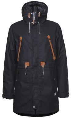 Colour Wear - Urban Parka - Herren Parka - Black - Winterjacke - Übergangs Jacke