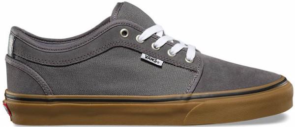 Vans - Chukka Low Pro - Schuhe - Sportschuhe - Skateschuhe - pewter/white/gum