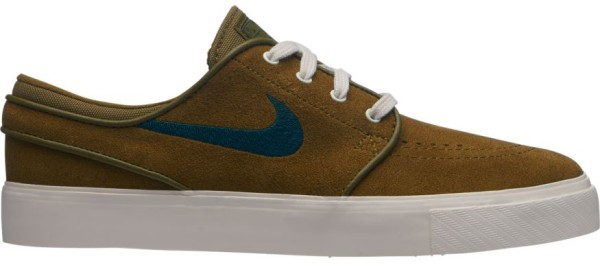 SB Air Zoom Stefan Janoski - Nike - olive flak/midnight - Sneakers