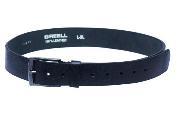 Reell - Grain Belt - black - schwarz - grain gürtel reell - reell gürtel - reell schwarzer gürtel - gürtel von reell - reell accessoires