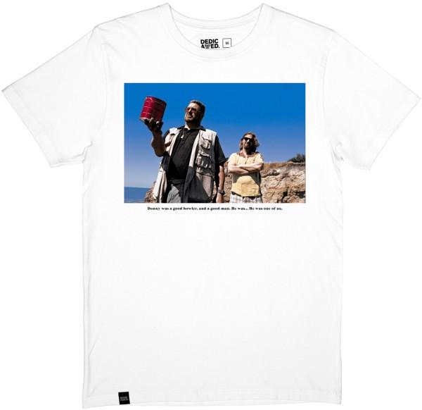 Dedicated - Stockholm T-Shirt Donny - white