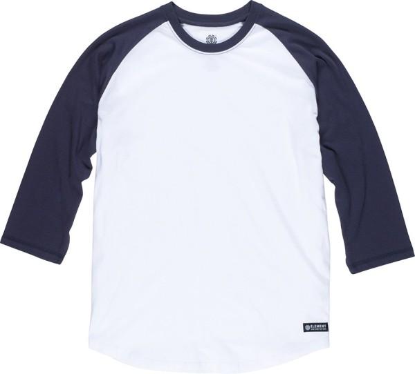 Element - Basic Raglan - Streetwear - Shirts & Tops - T-Shirts Langarm - optic white