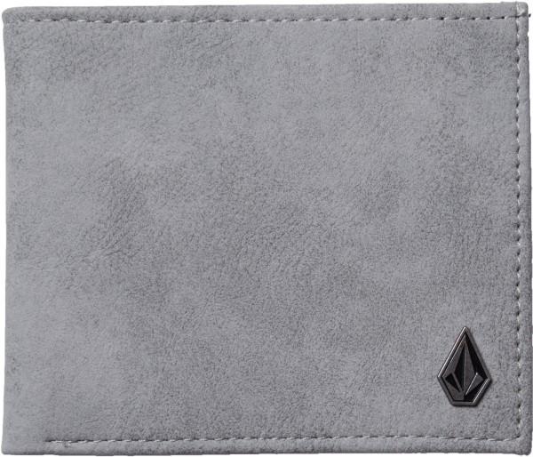 Volcom - Slim Stone PU - Accessories  -  Geldtaschen  -  Kunstledergeldtaschen - grey