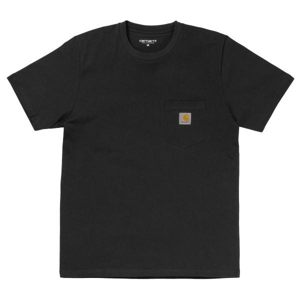 Carhartt - S/S Pocket - Streetwear - Shirts & Tops - T-Shirts - black - Carhartt S/S Pocket black T-Shirt - S/S Pocket black T-Shirt von Carhartt
