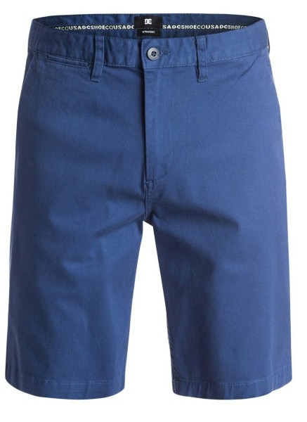DC - Worker Straight Short - Short - Vintage Indigo
