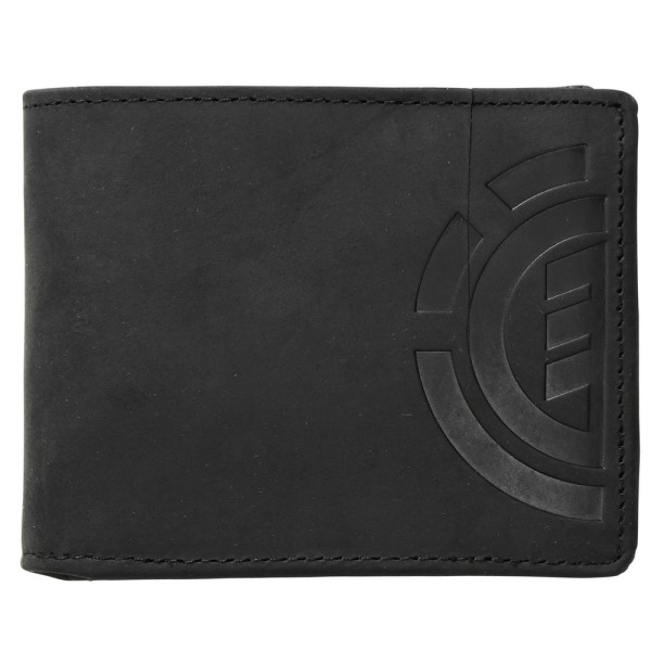 Element - Daily Elite Wallet - black - schwarz - Element Ledergeldtasche - Ledergeldbörse - Element Accessoire - Element Wallets
