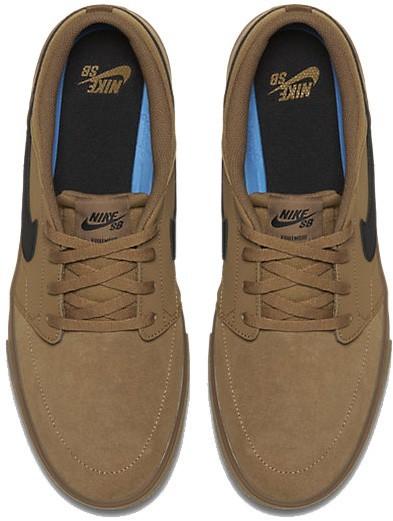 Nike - SB Solarsoft - Schuhe - Sneakers - Sneakers - platinum white black