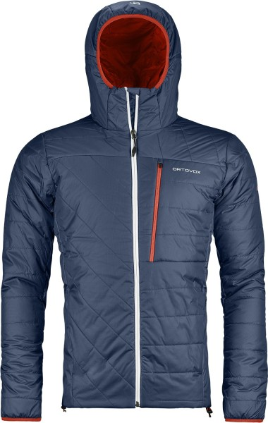 ortovox - swisswool piz bianco jacket men - night blue