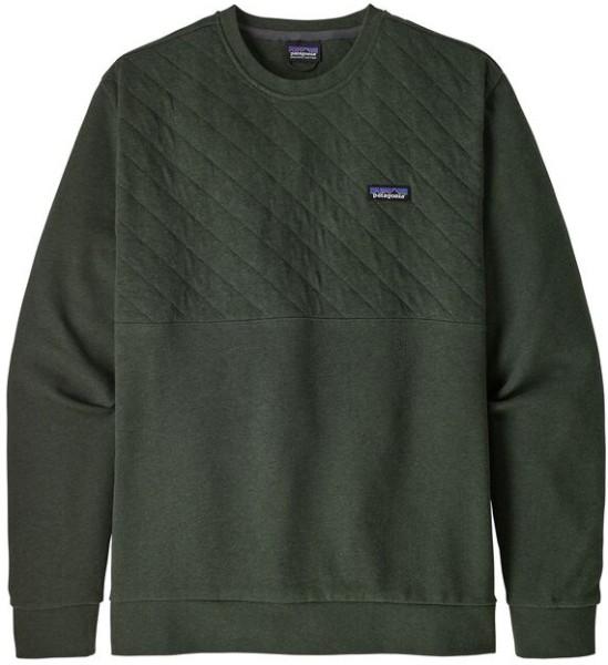 Patagonia - Organic Cotton Quilt - Streetwear - Sweater und Strick - Sweaters - Crew Sweater - alder green