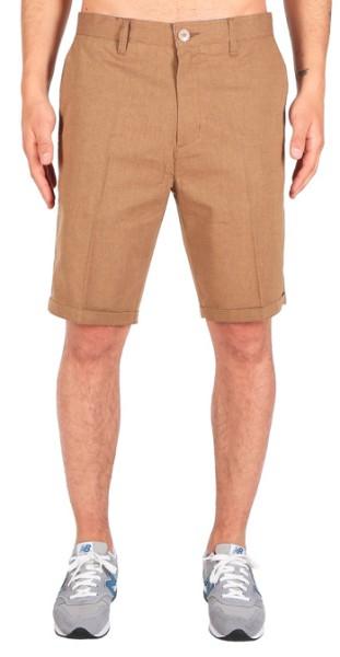 Iriedaily - Golfer Chambray - Streetwear - Shorts - Shorts - caramel