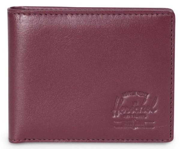 Herschel - Herren - Red - Rot - Wine - Hank + Coin Wallet - Geldtasche