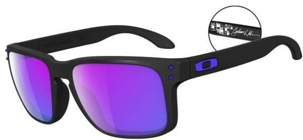 Holbrook - Sonnenbrille - Oakley - Matte Black-Violett