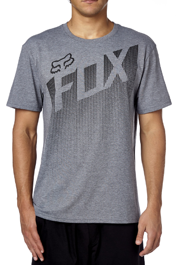 Fox - Captive Tech Tee - T-Shirt - 185 Heather Graphite