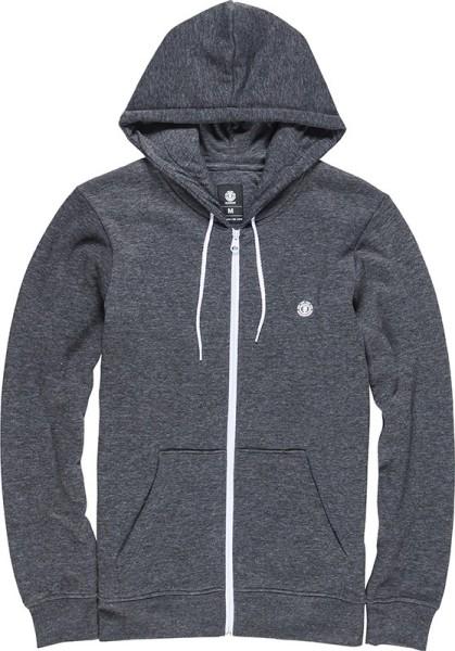 Element - Cornell - Streetwear - Sweaters - Zip Hoodies - charcoal heather
