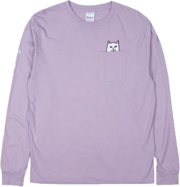 Lord Nermal LS - Rip N Dip - Light Purple - T-Shirt Langarm