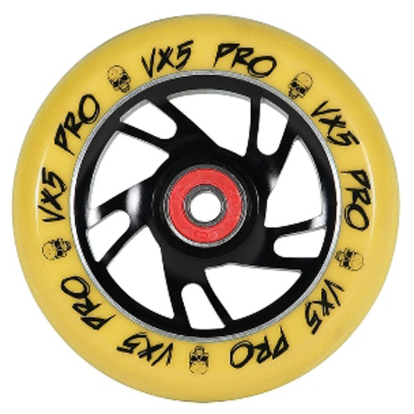 Madd Scooter - VX5 Pro 100 - Boards & Co  -  Scooter  -  Parts Scooter  -  Wheels Scooter - gelb