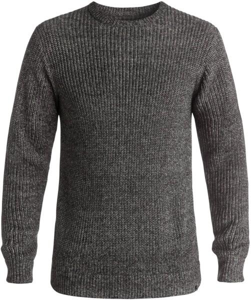 Quiksilver - Step On - Sweater - Strick Sweater - Herren Crew Sweater - Black