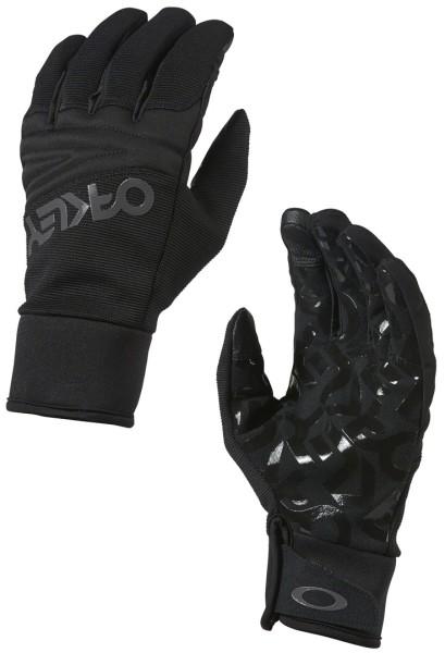 FACTORY PARK GLOVE - Oakley - Blackout - Snowwear  - Handschuhe  - Pipe Handschuhe