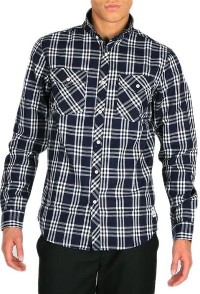 Iriedaily - Old Fella Shirt - navy - blau - streetwear - hemden - hemden langarm