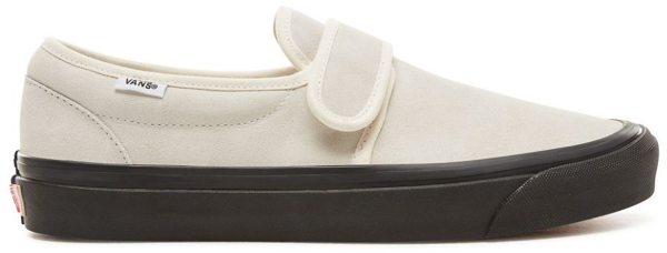 Vans - UA Slip-On - suede anaheim factory og white black - schuhe - sneakers