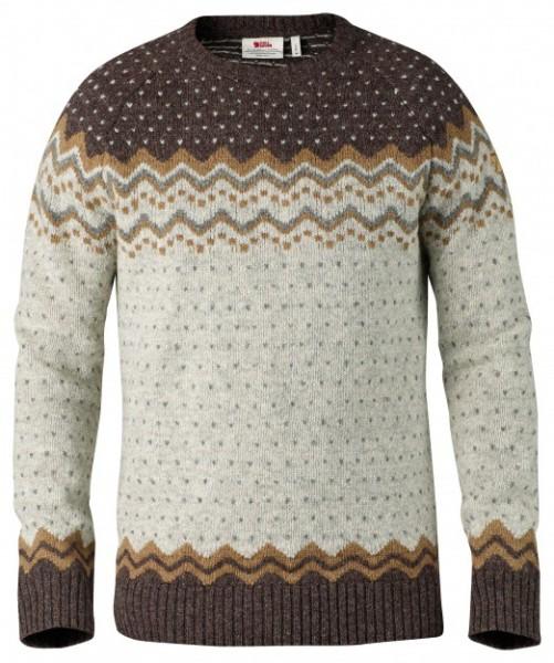Fjällräven - Övik Knit - Streetwear - Sweaters - Crew Sweaters - sand