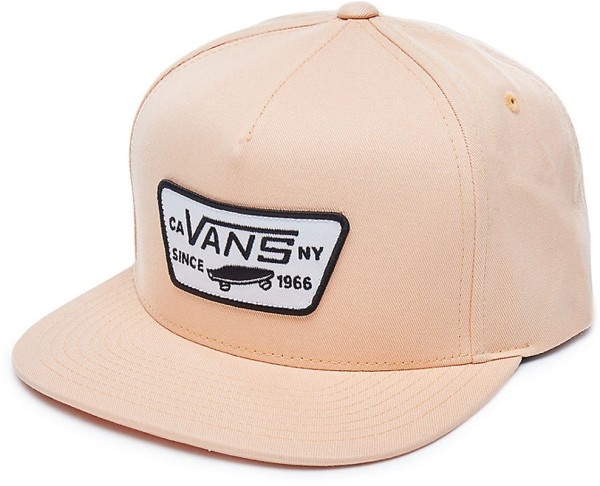 Vans - Full Patch Snapback - Accessories  -  Caps  -  Snapback Caps - apricot ice