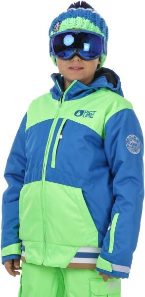 Picture - Code Jkt - picture blue green - kinder snowboardjacke - skijacke für kinder - kinder picture jacket - blaue funktionsjacke
