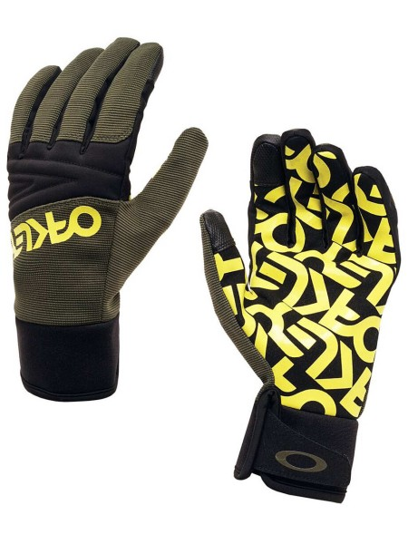 FACTORY PARK GLOVE - Sulphur Dark Brush