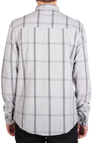 Iriedaily - Le Chequer - Streetwear - Hemden - Hemden Langarm - grey melange - Iriedaily Le Chequer grey melange Langarm Hemd -  Le Chequer grey melange Langarm Hemd von Iriedaily